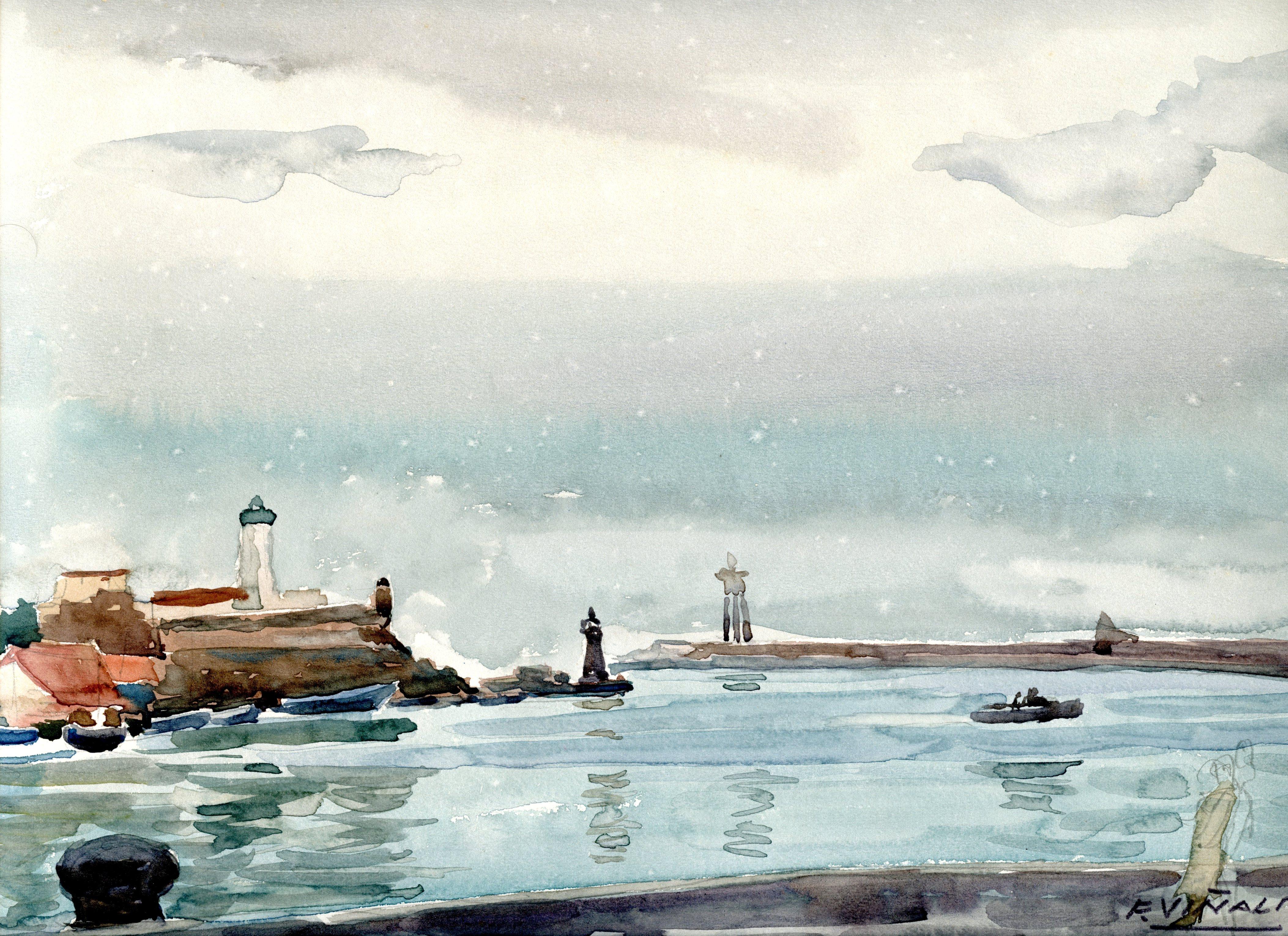 Pintor Frederic Viñals i Yscla Pintor Colliure