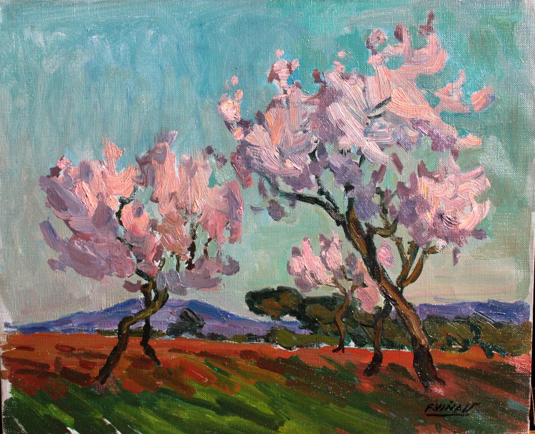 Pintor Frederic Viñals i Yscla Pintor arte